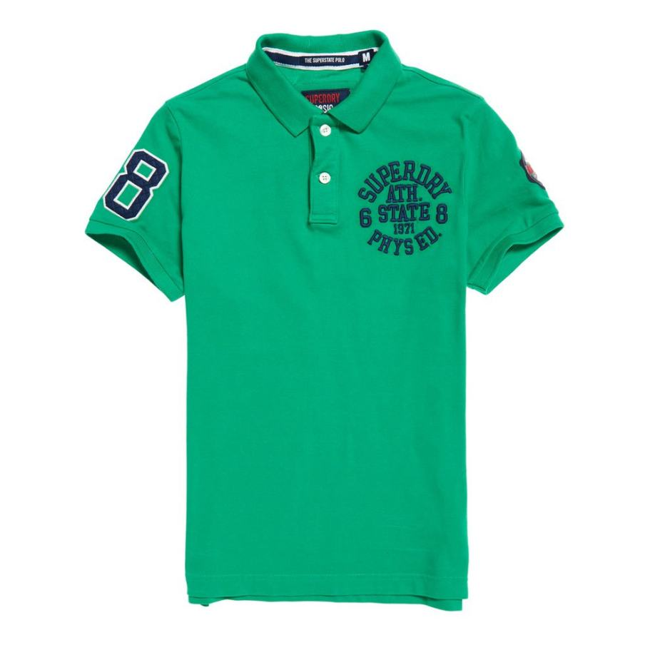 POLO SUPERDRY CLASSIC VERDE