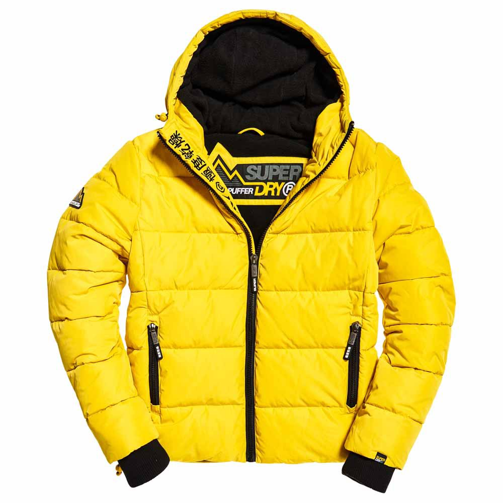 CAZADORA SUPERDRY SPORTS PUFFER AMARILLO